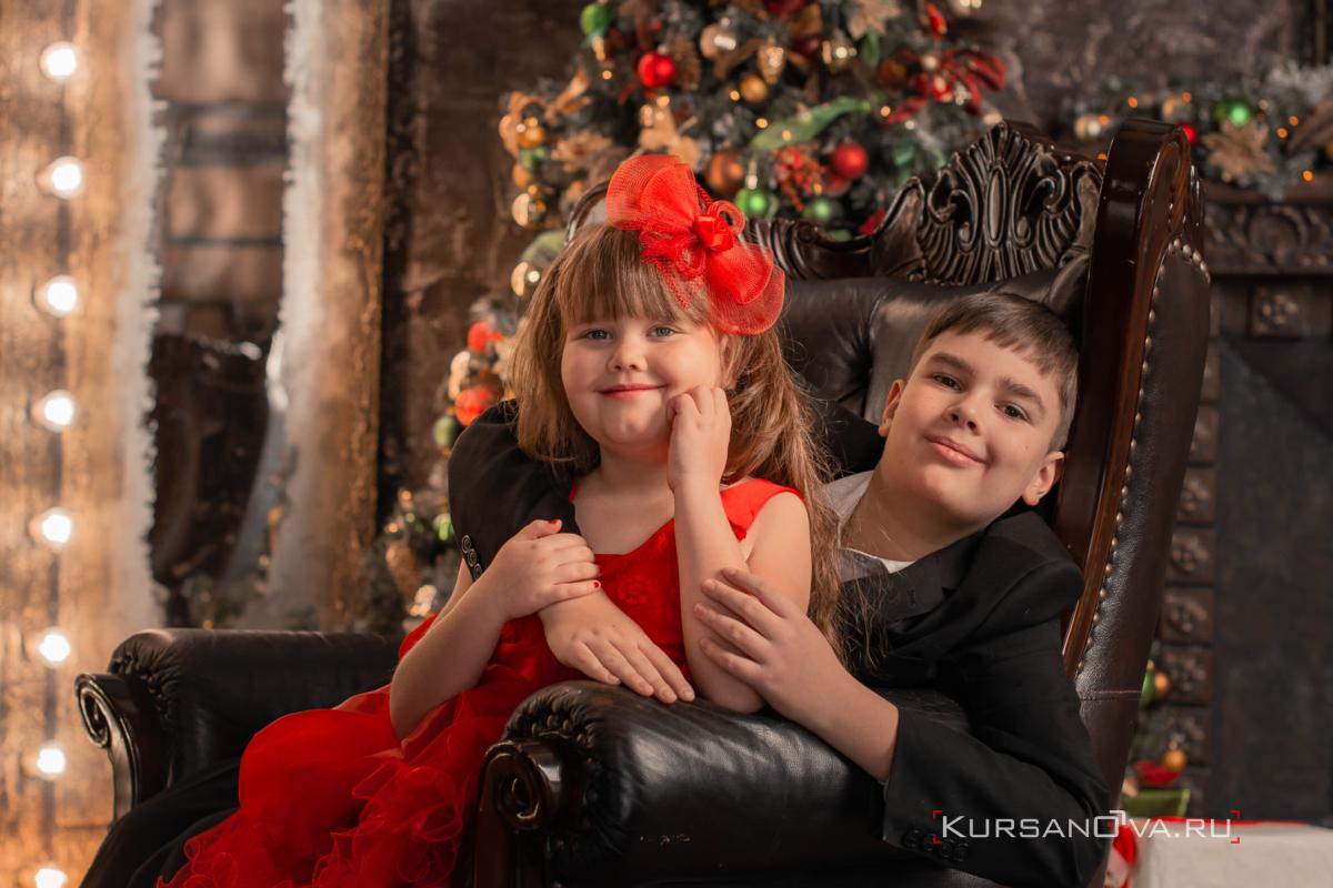Семейная фотосессия в Нижнем Новгороде. Дети на фотосессии.