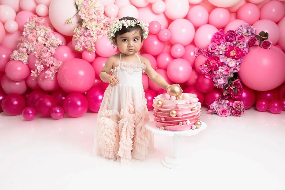 Фотосессия на один годик малышу