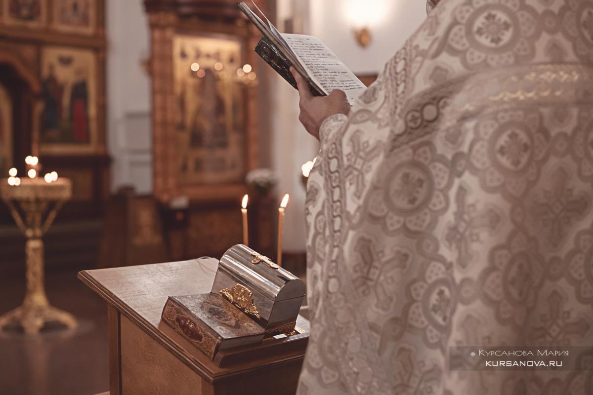 Фотограф на кещение Храм Владимирской Оранской иконы Божьей Матери