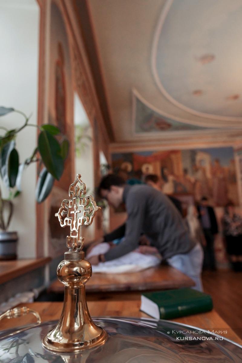 Фотограф на крещение в церкви в честь Живоначальной Троицы
