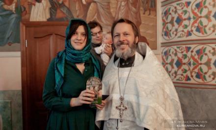 Съёмка крещения малыша — церковь в честь Живоначальной Троицы