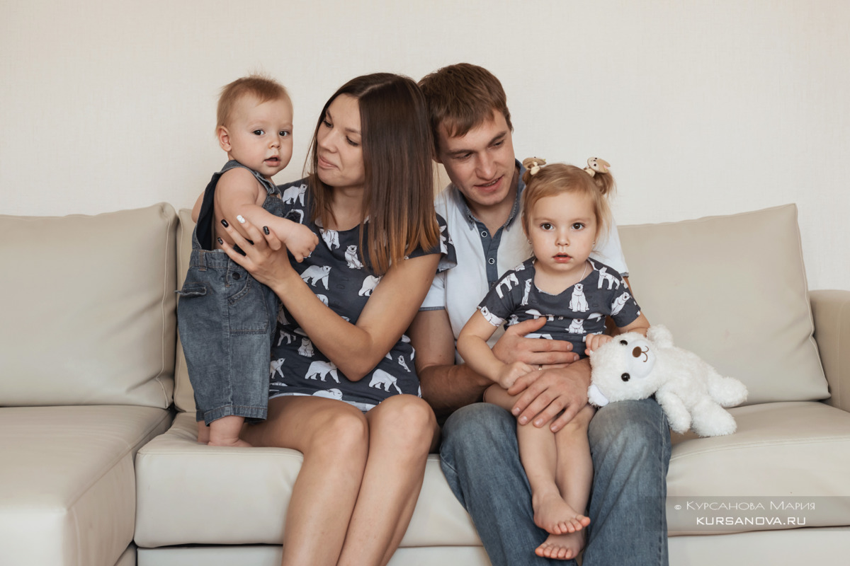 Домашняя съемка малышей