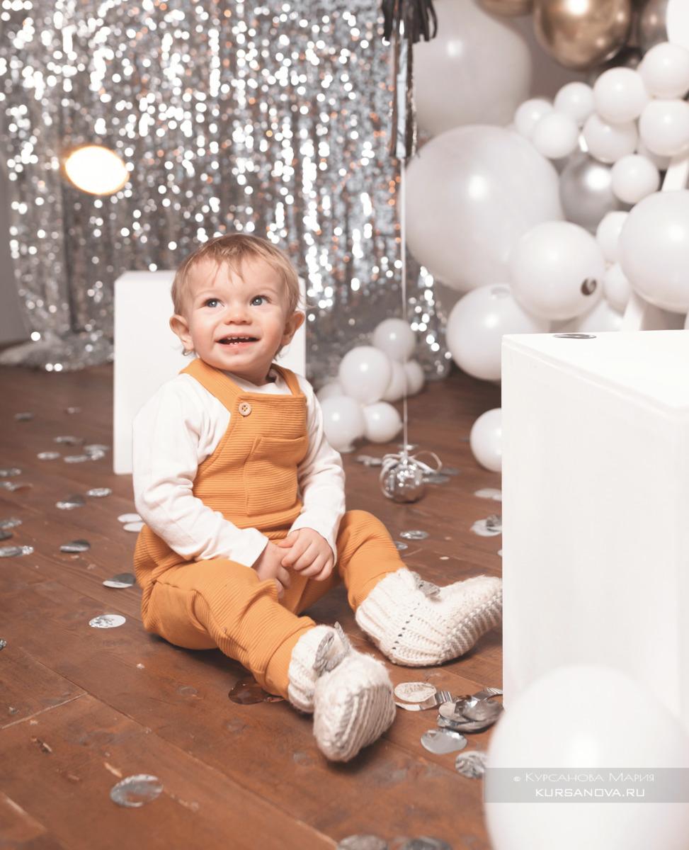 Оформление дня рождения на годик мальчику