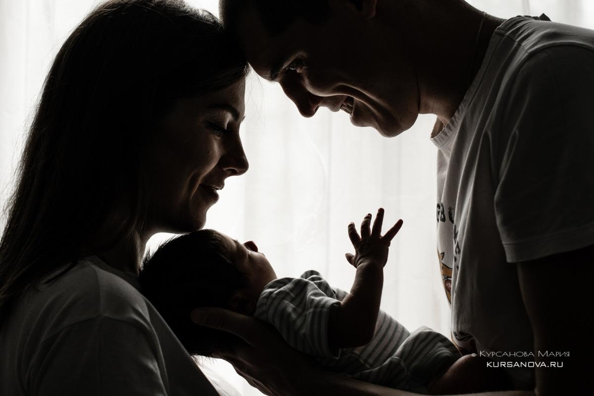 Фотосъемка новорожденных малышей