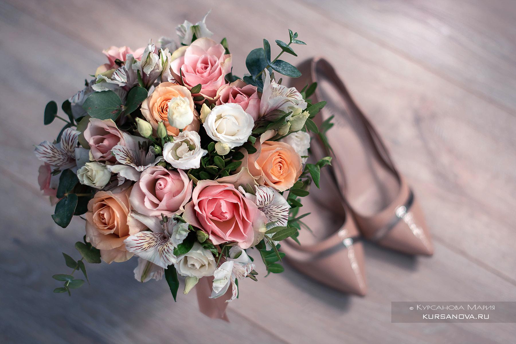 Съемка для визажиста, образ невесты