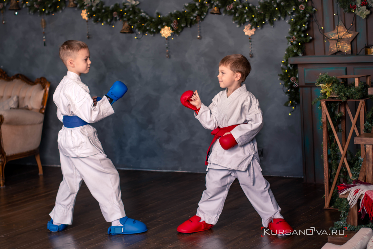 Детская фотосессия Даня и Илья