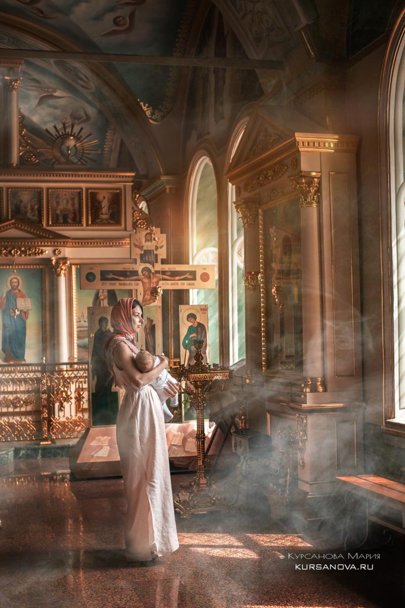 Фотосессия крещения в Нижнем Новгороде