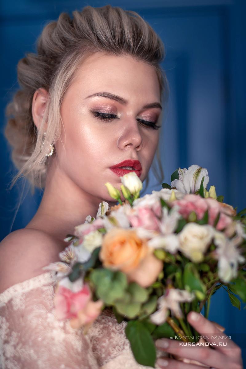 Фотосессия для невесты перед свадьбой