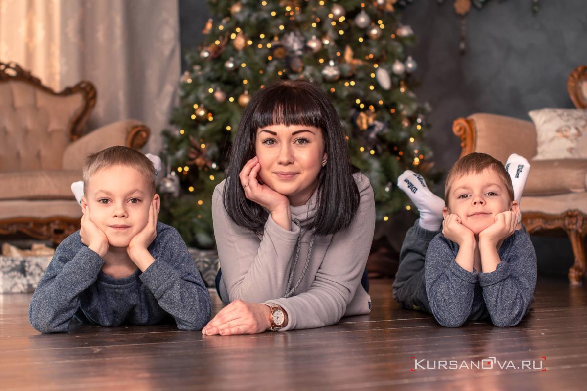Фотосессия с детьми в студии