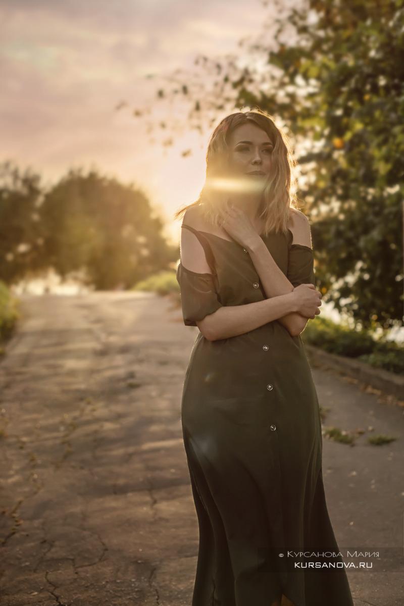 Уличная фотосессия, уличный портрет в Нижнем Новгороде девушек